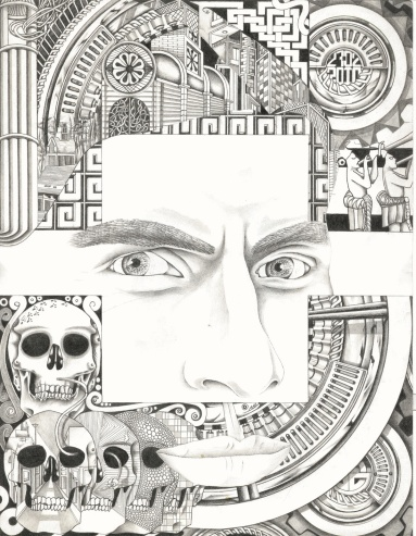Self-Portrait Pencil / Paper 8.4 x 11in 2010